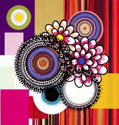 more circles in art and design, this piece by the fantastic Brazilian visual artist Beatriz Milhazes