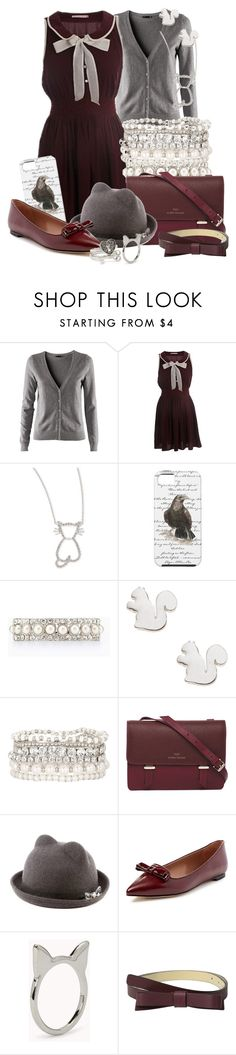 """Warnings at Waverly Academy"" by detectiveworkisalwaysinstyle ❤ liked on Polyvore featuring H&M, Roberto Coin, Ann Taylor, Accessorize, Karen Walker, Elorie, Forever 21 and Kate Spade"