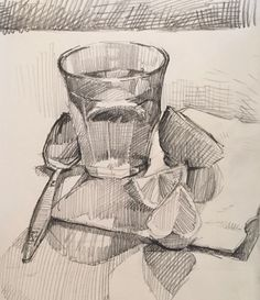 Image result for sketchbook and pencil still life