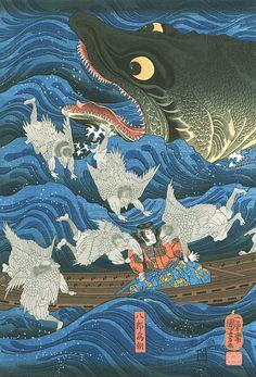 Utagawa Kuniyoshi (detail)