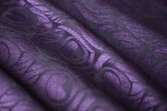 Artipoppe Argus Sippin Yak (cotton wool(merino, yakwool) silk baby wearing wrap high end sling black purple
