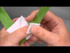 Sådan laves spidsen på Anne Larsen´s  Kræmmerhus - YouTube