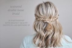 Braided Hair Tutorial + a celebration of Beauty Makers - The Small Things Blog