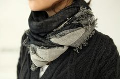 Source: death-by-elocution  #CHUNKY SCARF