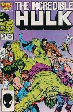 The Incredible Hulk #322 - Must the Hulk Die?