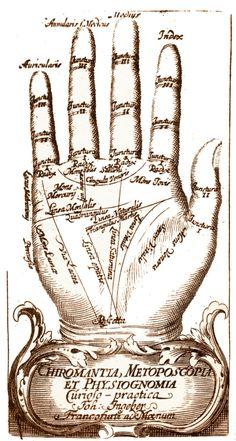 Vintage:  Palm Reading