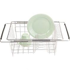 This Polder Sink Dish Rack is an essential item for modern homes. It is made using stainless steel, which provides the dish rack a long and durable life. The dish rack fits in the sink easily, thu Kitchen Sink Storage, Best Kitchen Sinks, Kitchen Storage Solutions, New Kitchen, Kitchen Ideas, Kitchen Rack, Cozy Kitchen, Kitchen Cupboards, Kitchen Dining