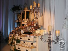 Mesa de dulces y postres para boda #GDevents #candybar #wedding #candy #weddingplanner #events #eventplanner #queretaro