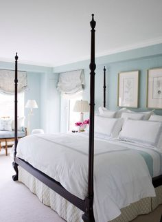 Mint master bedroom