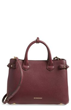 fb7ce75a3210 Burberry  Medium Banner  Leather Tote available at