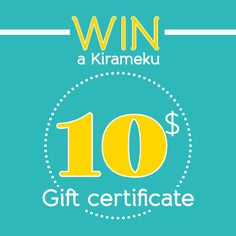 Celebrate Spring with Kirameku's handmade jewelry giveaway! And it's open internationally too…! Follow the link for all the details : )