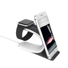 LOCA Mobius Charging Stand Phone Holder for Apple Watch Mobile Phone Holders & Stands with Charging Mount Dock For iphone 7 5s 6
