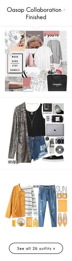 """Oasap Collaboration · Finished"" by undercover-martyn ❤ liked on Polyvore featuring dresses, oasap, logo, text, formal wear dresses, formal dresses, summer formal dresses, summer dresses, Linea and adidas Originals"
