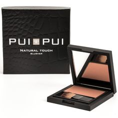 Pui Pui Natural Touch Blusher; Rosa Scuro - ref. 25603