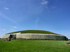 burial mound of Newgrange in County Meath, Ireland