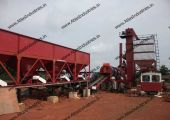 The buyer has the option of opting for a stationary continuous asphalt plant or a portable drum mixer.