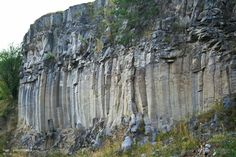 Coloanele de bazalt de la Racos, Muntii Persani Singular, Romania, Amazing, World, Places