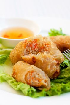 Vietnamese Spring Rolls | Easy Delicious Recipes