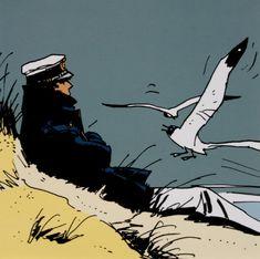 Hugo Pratt - Corto Maltese : Lote (n°1) de 10 postales Cómics