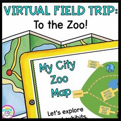 ⭐Let's all take a field trip! In this Virtual Field Trip, students visit the zoo to learn about different types of animals. This virtual field trip is assembled using embedded videos, Google Earth, images, and more!