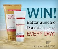Murad Sweepstakes! Better Suncare Duo Given Away Daily!