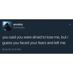 OKAY 15+ Years Of Fears… Then U F*CK UP! NOW JUST STAY GONE!