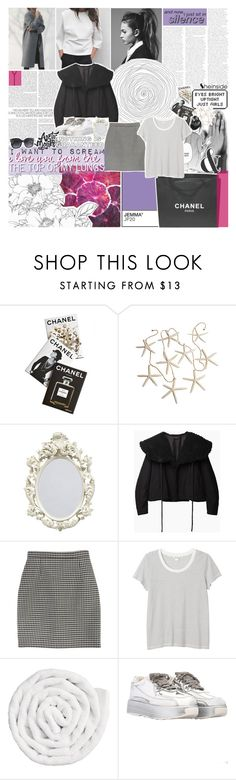 """""""never knowing who to trust like this"""" by feels-like-snow-in-september ❤ liked on Polyvore featuring Assouline Publishing, PAM, Chanel, Yohji Yamamoto, Yves Saint Laurent, Monki, VIPP, TalisLittleTag, gottatagrandomn3ss and DestinyHasBeenSummoned"""
