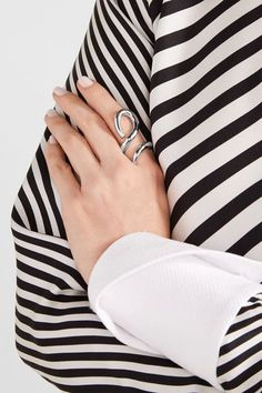 Jennifer Fisher - Root Silver-plated Ring - One size