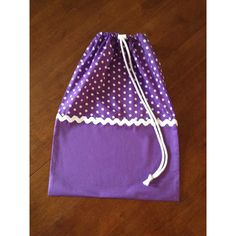 $15.00 Drawstring library or childcare bag by piggyandsquirrel on Handmade Australia
