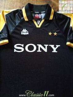 8fabf9a76 Official Kappa Juventus 3rd football shirt from the 1995 1996 season.  Vintage Football Shirts