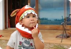 Preparando el invierno: Monstruoso Gorro polar braga cuello / Let's go to prepare the winter: Monster Fleece Hat scarf