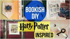 BOOKISH DIY | harry potter inspired.  Snitch + Quidditch Game pieces, and butterbeer.