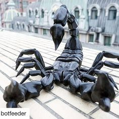 what a scorpio  #Repost @botfeeder (@get_repost)  #botfeeder #3dprint #3dprinting  #3d #makers #delta #manufacturing #filament #PLA #neo-pla