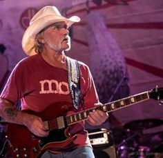 John Gellman captured this incredible photo of Dickey Betts. Dickey is one of the original members of The Allman Brothers Band. He celebrates his 71st birthday on December 12, 2014. May the road go on forever for Dickey Betts with a beautiful blue sky shining down over the road. Allman Brothers, Rock Roll, Dickey Betts, Macon Georgia, Ranger, Rhythm And Blues, Blue Band, Eric Clapton, Music Icon
