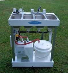 Electric Concession Sink - DIY kit $799 plus $49 shipping