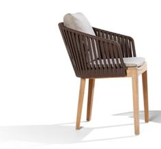Tribu, Outdoor, stackable dining Mood Chair.