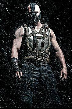 Bane (Tom Hardy) - best villain in Batman! The Dark Knight Trilogy, The Dark Knight Rises, Batman The Dark Knight, Bane Batman, Batman Batmobile, Dc Comics Art, Marvel Dc Comics, Bruno Diaz, Bane Costume