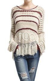 Knit Fringe Sweater