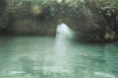 Water ghost? Angel? Her friend caught this!