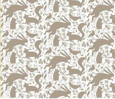 rabbit fabric