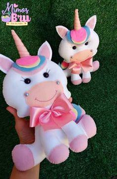 unicornio em feltro - Pesquisa Google