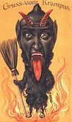 The Devil in Design - The Krampus Postcards by peacay, via Flickr