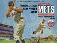 1969 New York Mets vs Montreal Expos Game! Baseball First, Mets Baseball, Baseball Cards, Baseball Stuff, Ny Mets, New York Mets, Mlb, Shea Stadium, City Flags