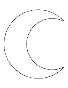Crescent Moon Pattern