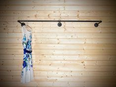 Pipe Clothes Rack, Hanging Clothes Racks, Clothes Rod, Hanging Racks, Wall Racks, Wall Hangers For Clothes, Wall Mounted Clothing Rack, Industrial Wall Shelves, Industrial Pipe
