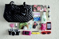 Tag : O que tem na minha bolsa? | Clash Diamond