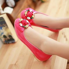Beautiful Flat Shoes For Girls 2014 Flat shoes