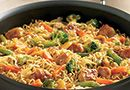 Orange Chicken Lo Mein - The Pampered Chef®  I made this in the Rock Crock Everyday pan and it was delicious.