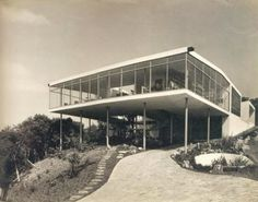 Housing and Architecture: 4. Casa de Vidro (Glass House) , Lina Bo Bardi - by Camila Figueiredo