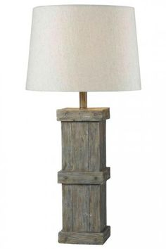 20th Century R.v.astley Vintage Table Lamp With Tree Trunk Base In Great Condition Elegant And Sturdy Package Antique Furniture